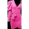Deep V Leaking Puff Puff Sleeve Dress Wa - Vestiti - $26.99  ~ 23.18€