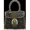 Delvaux Brillant Mini Coliseum Calf Leat - Hand bag -