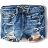 Denim Shorts - Shorts -
