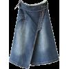 Denim Skirt - Faldas -