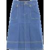 Denim Skirt - Gonne -