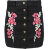 Denim Skirt - Skirts -