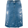 Denim skirt - Skirts -
