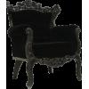 Black Armchair - Muebles -