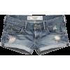 Destroyed Jeans Short - Spodnie - krótkie -