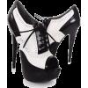 Peep toe high heels - Shoes -