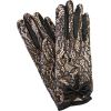 Dents Satin and Lace Dress Gloves - Luvas -