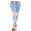 Destroyed Boyfriend Jeans - People - $98.00