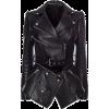 Detachable Zippers Faux Leather Jacket - Jacket - coats -