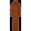 Deveaux Oversized Belted Wool Coat - Jacket - coats -