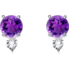 Diamond Accent Earrings - Aretes - $415.99  ~ 357.29€