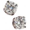 Diamond Cushion Earrings - Aretes -