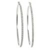 Diamond Hoop Earrings - イヤリング -