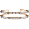 Diamond Cuff Bracelet - Bransoletka -