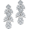 Diamond Earrings - Aretes -