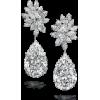 DiamondFlowerEarring - Earrings -