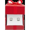 Diamond Stud Earrings - Earrings -