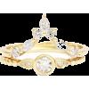 Diamond Wedding Ring Set, Unique Engagem - Rings -