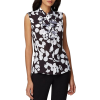 Dillards Tahari Woodcut Floral Blouse - Shirts - $33.60  ~ £25.54