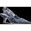 Dior INDIGO BLUE SWEET-D SLINGBACK WAX T - Classic shoes & Pumps -