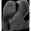 Distressed Ankle Nosebleed Boot Vegan - Botas - $110.00  ~ 94.48€