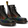 Doc Martins - 1460 TARTAN LEATHER LACE - Boots - $80.00