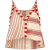 Dodo Bar Or Pacho Asymmetric Crop Top - Majice bez rukava -