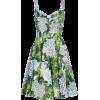 Dolce & Gabbana Hortensia-print Jacquard - sukienki -