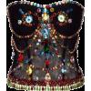 Dolce & Gabbana black bustier - Top -