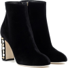 Dolce & Gabbana Black Ankle Boots - Boots -