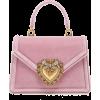 Dolce & Gabbana Borsaspalla Velvet Handb - Bolsas pequenas -