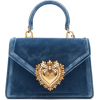 Dolce & Gabbana Borsaspalla Velvet Handb - Torebki -