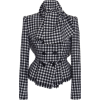 Dolce & Gabbana Checked Tweed Double-Bre - Jacket - coats -