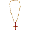 Dolce & Gabbana Cross Necklace - Necklaces -