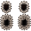 Dolce & Gabbana Crystal-drop clip earrin - Orecchine -