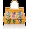 Dolce & Gabbana Dauphine Floral-Print Le - Kleine Taschen - $2.58  ~ 2.21€