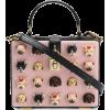 Dolce & Gabbana Dog Heads Shoulder Bag - Hand bag -