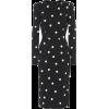 Dolce & Gabbana Dotted crêpe dress - Kleider -