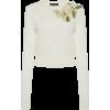 Dolce & Gabbana Embellished Silk Sweater - Long sleeves shirts -
