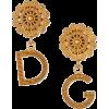Dolce & Gabbana Filigree DG-Drop Earring - Earrings -