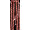 Dolce & Gabbana Floral Jacquard Trousers - Capri & Cropped -
