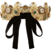 Dolce&GabbanaGold-plated Swarovski crown - Остальное -