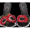 Dolce & Gabbana Keira anemone raffia and - Classic shoes & Pumps -