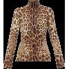 Dolce & Gabbana Leopard-print high-neck - Pullover -