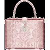 Dolce & Gabbana Pink Cinderella Plexigla - Hand bag -