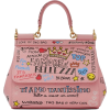 Dolce & Gabbana Pink Small Graffiti Miss - Carteras -