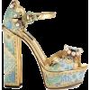Dolce & Gabbana Platform Sandals - Sandals -