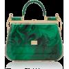 Dolce & Gabbana Plexi Top Handle Bag - Carteras - $4.85  ~ 4.16€