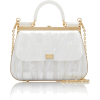 Dolce & Gabbana Plexi Top Handle Bag - Hand bag -