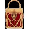 Dolce & Gabbana Raffia And Leather Baske - Hand bag -
